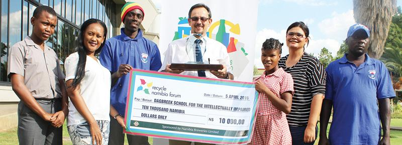 20 tons waste fetch N$10,000 prize