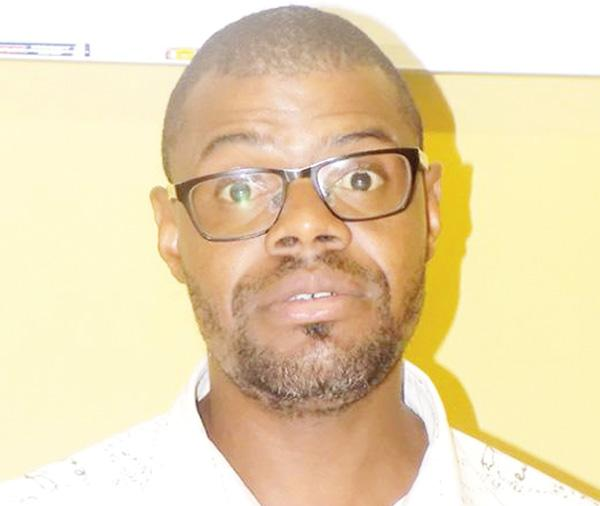 Newly elected Secretary General of the Namibia Footballers Players' Union (NFPU) and a member of the Civil Rights group, 'Restoring the Dignity of our People', Olsen Kahiriri