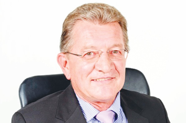 Trustco Bank Chief Executive Officer, Thomas Slabbert