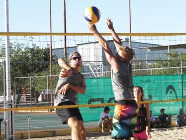 Timeout serves some beach volley this weekend