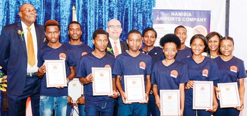 Airports company avails bursaries worth N$1 million