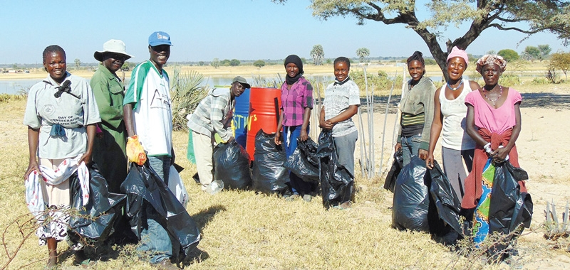 Gondwana organises a successful clean-up campaign