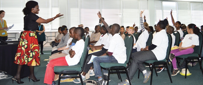Students enlightened on childhood poverty