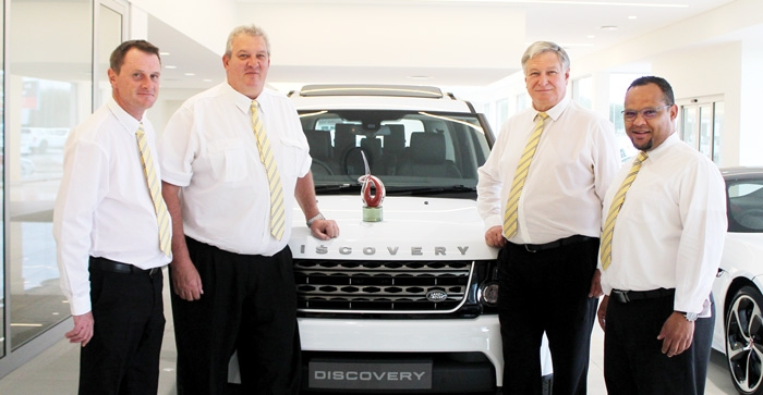 Jaguar Land Rover Windhoek dealership pick up accolade