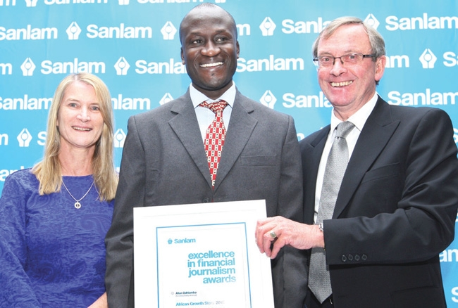 SA dominates at Sanlam awards
