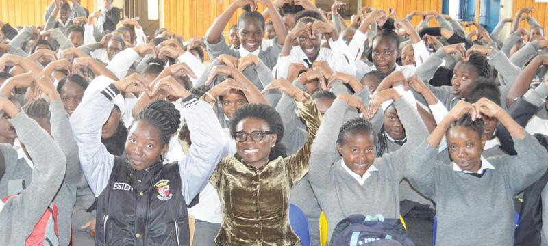 UN outreach empowers girls