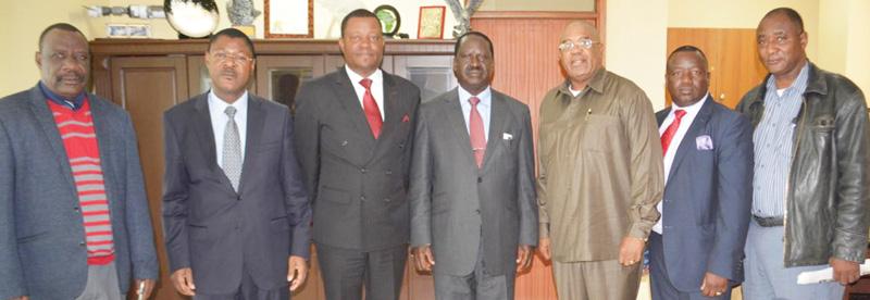 Opposition parties look to Kenya's coalition model