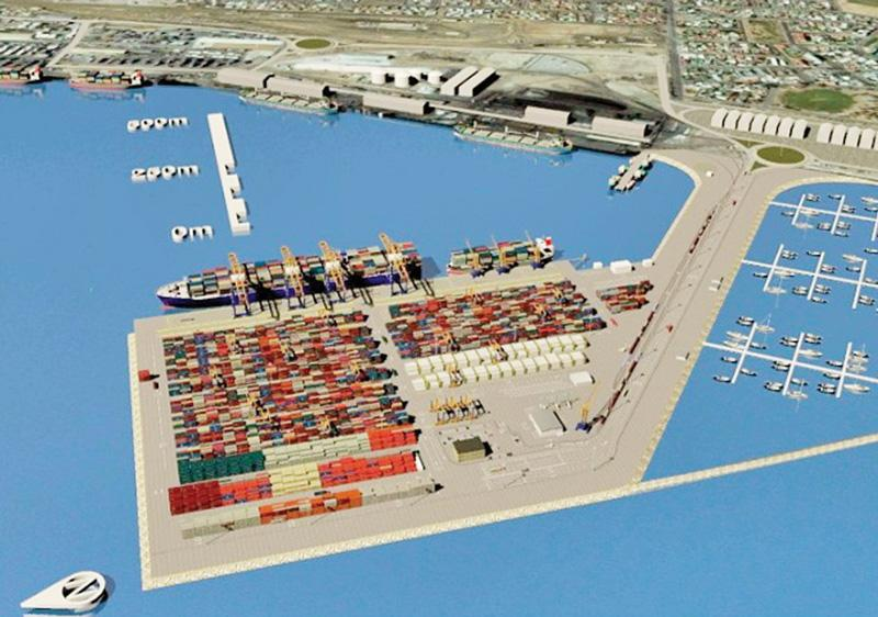 Container terminal progressing