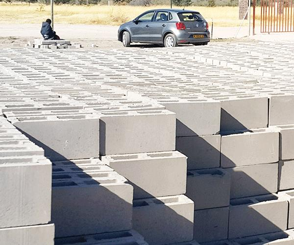 The huge demand for bricks in Katima Mulilo and the rest of the Zambezi region prompted the Development Bank of Namibia to finance a brickmaking concern, East End Frontier Holdings.