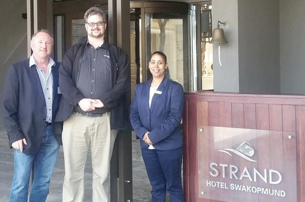 Strand hotel gets top shelf wireless internet