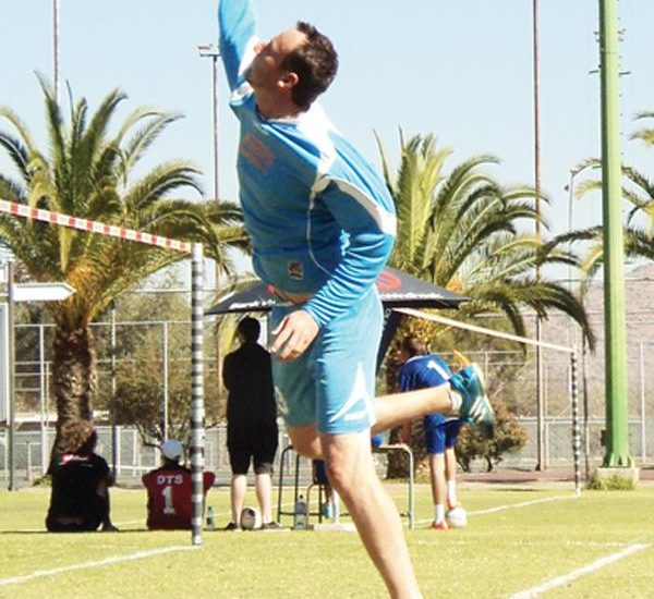 Fistball action this weekend will take place in the coastal city of Swakopmund.