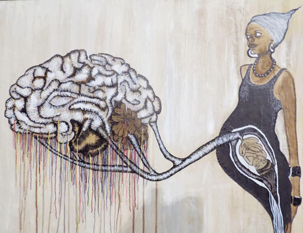 The bellowing mind art exhibition–  unique imagery that looks into the human mind