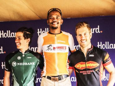 Papo pedals to victory in Hollard Skyride race