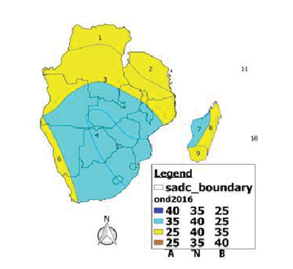 Positive rain expected for SADC regions