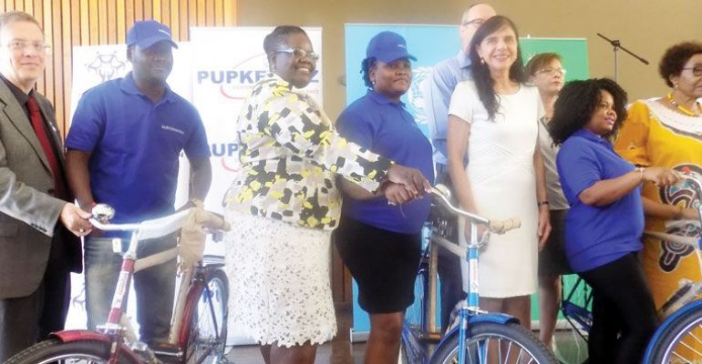 Pedal power takes medicine to rural villages