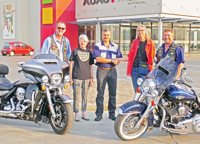 Harley, Auas Valley Mall supports SPCA