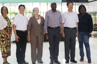 Chinese technology amazes Namibian Speaker