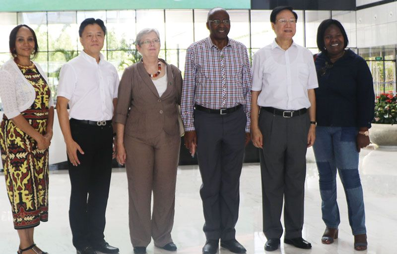 Chinese technology amazes Namibian Speaker