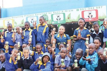 School recycling competition hits mid-year mark