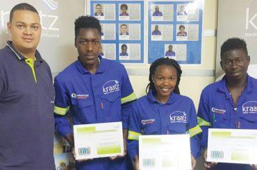 Kraatz gets more graduates From Welding School
