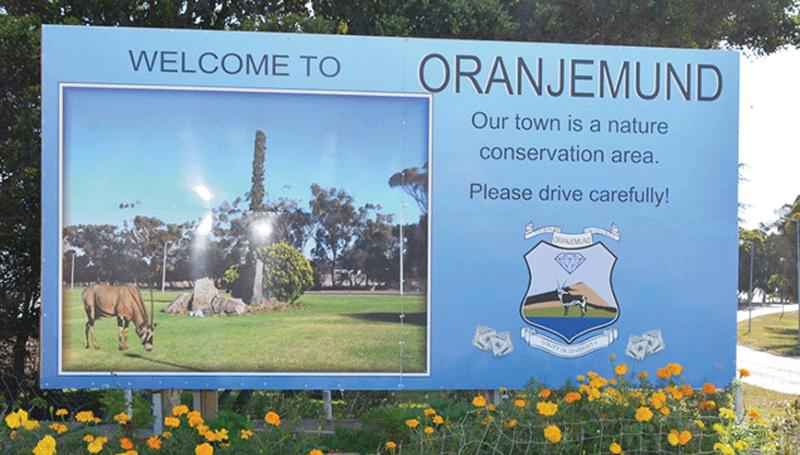 Oranjemund claims Namdeb's debt