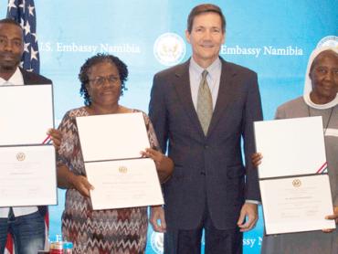 U.S Ambassador grant powers community