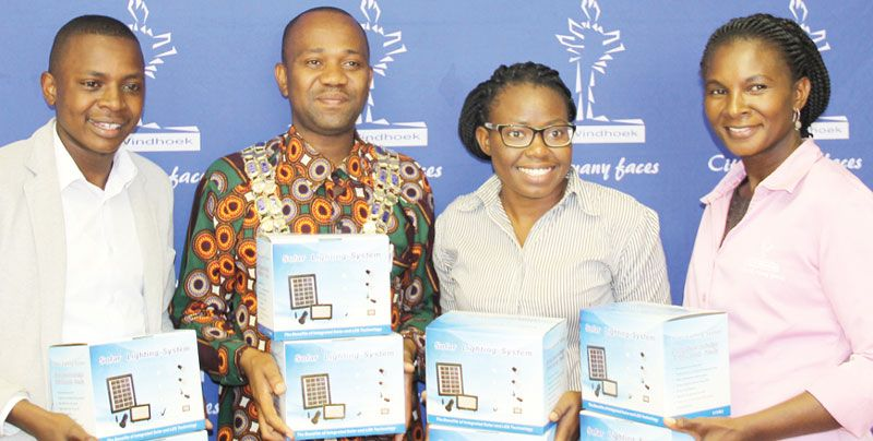 City of Windhoek in CSR acts