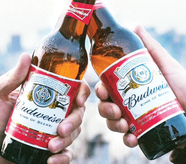 Budweiser coming