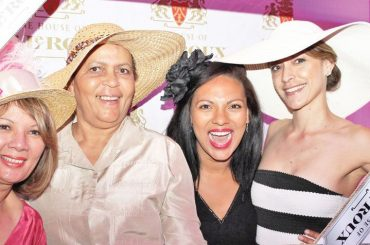 Bumper crowd welcomes Pink Month at Hats & Roses