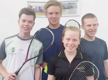 Junior Squash players get exposure in SA