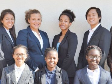 Windhoek International learners to Johburg conference