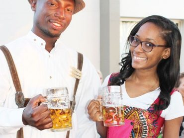 All set for the Windhoek Oktoberfest