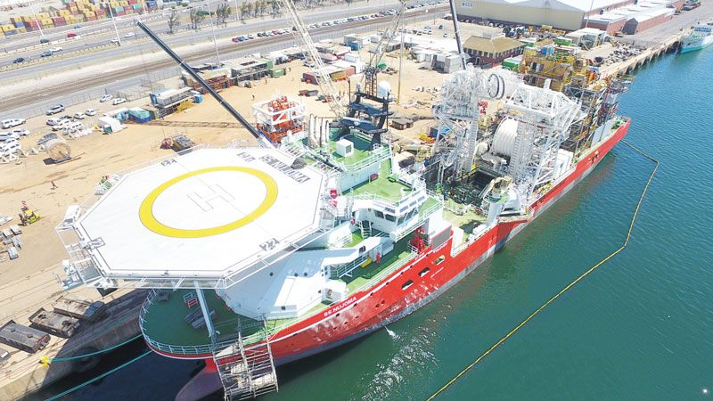 Diamond exploration vessel set to explore