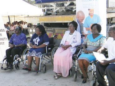 Improved equipment for Oshakati State Hospital