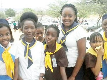 Girl Guides build their confidence