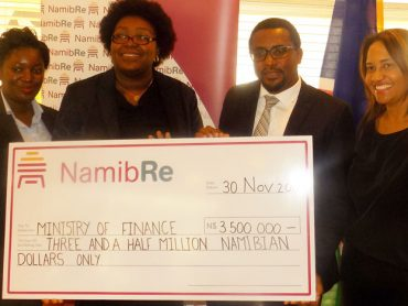 NamibRe increases dividend to government coffers
