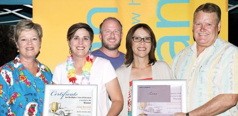 Top performers acknowledged by WesBank