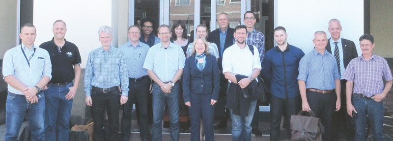German business delegation visits Namibia
