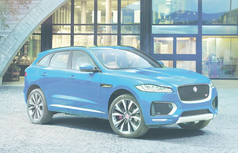 Jaguar F-PACE 2016 Women's car of the year