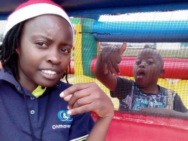 OVC Christmas party brings joy for Walvis children