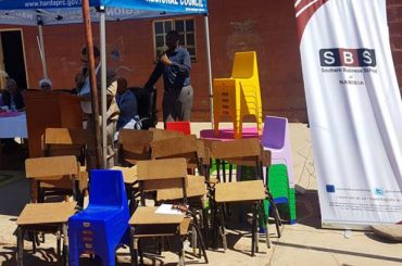 Business School donates to early learning centres in the Hardap Region
