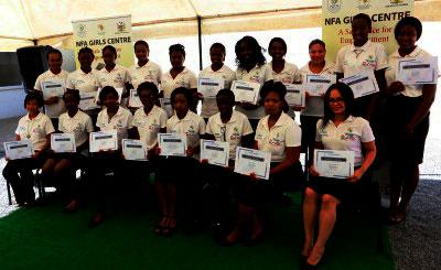 Footballers awarded Hospitality scholarships