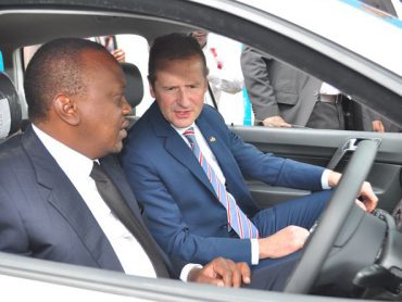 Volkswagen factory in Kenya completes African auto manufacturing triangle