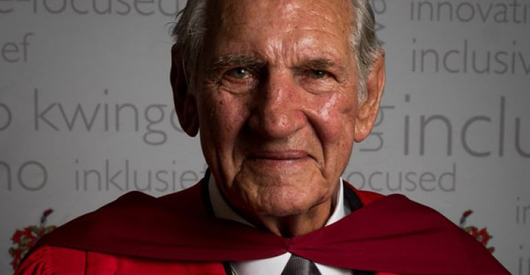 Dr Mudge receives highest academic honour