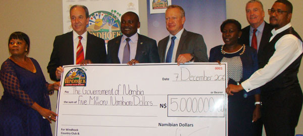 N$5 million dividend paid by Windhoek Country Club Resort