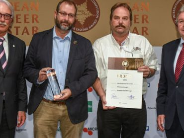 Windhoek Draught bags German beer award
