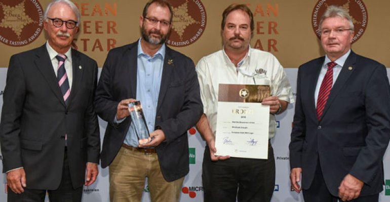 Windhoek Draught bags German beer award