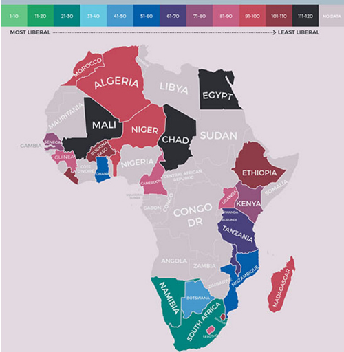 Most sexually liberal country in africa