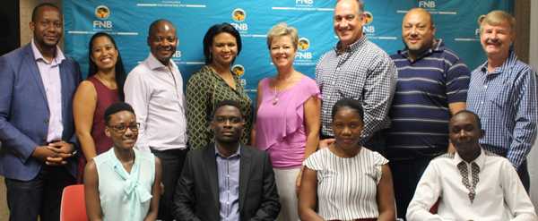 Talent development candidates off to SA for proper bank induction