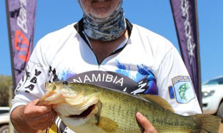 Engelbrecht reels in big at Bass Angling tourney